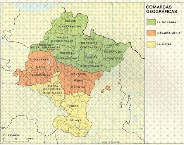 Historia De Navarra En Mapas